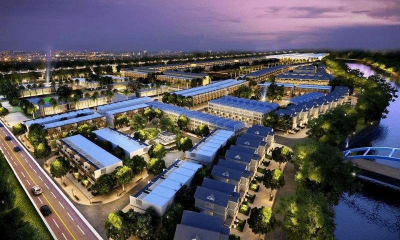 Phối cảnh tổng thể dự án Lakeview City