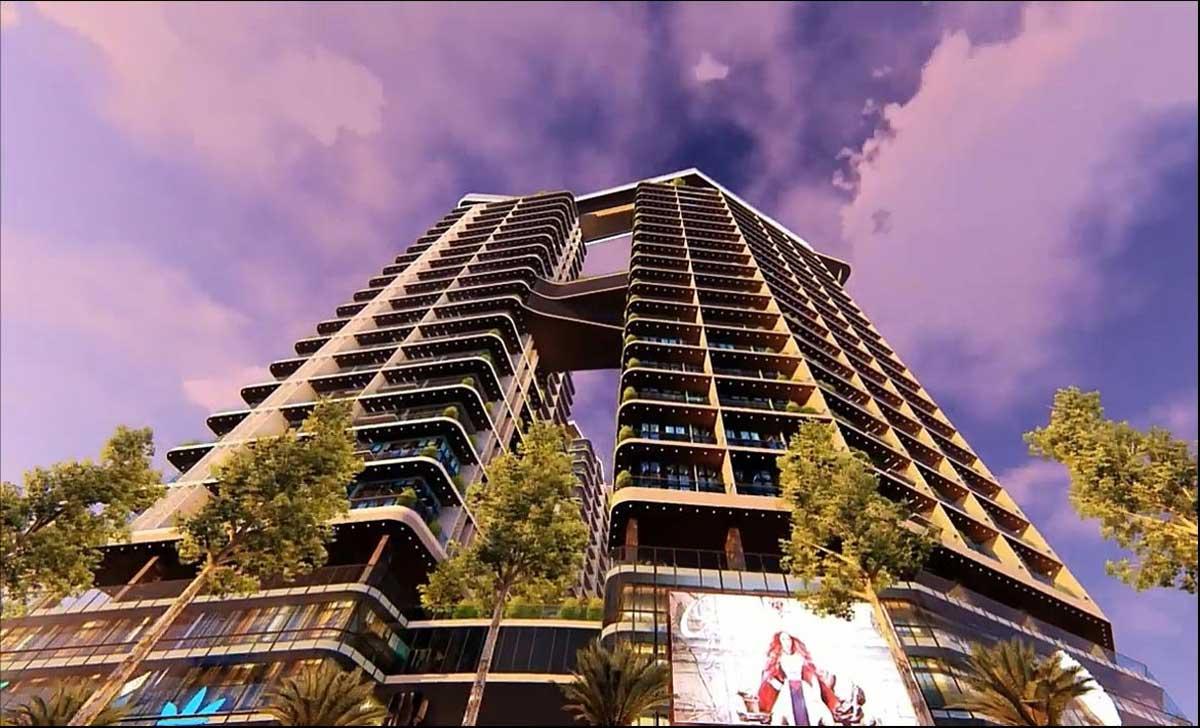 Phối cảnh tổng thể dự án Sunshine Legend Sky Villas