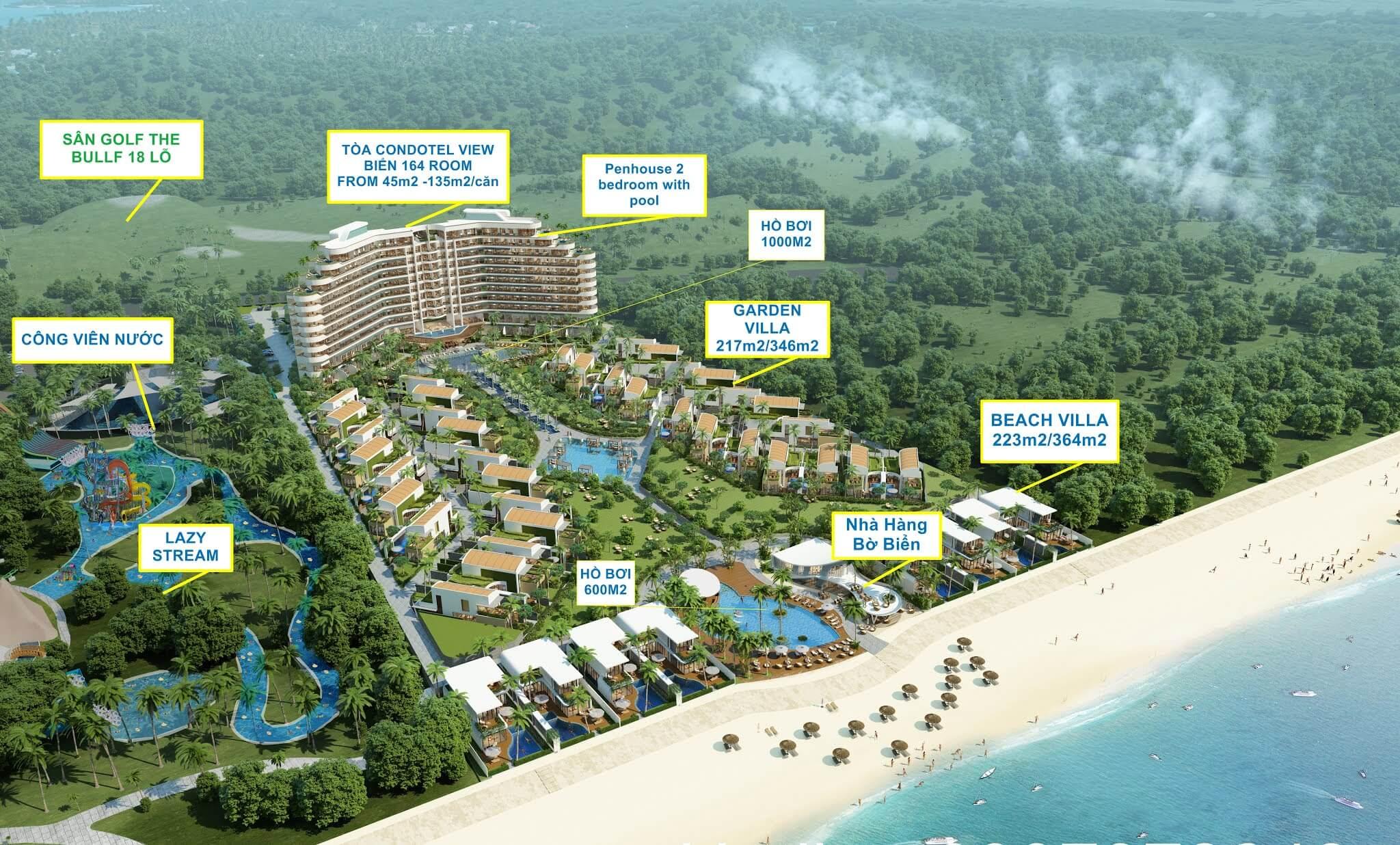 Tiện ích dự án Ixora Hồ Tràm Bà Rịa Vũng Tàu
