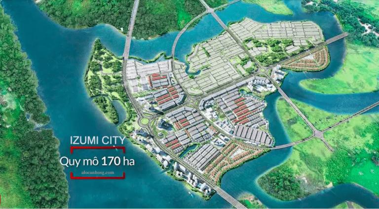 Tổng quan dự án khu đô thị Izumi city Đồng Nai